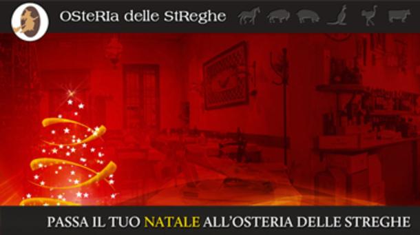 Natale 2015 all'Osteria Delle Streghe di Brescia