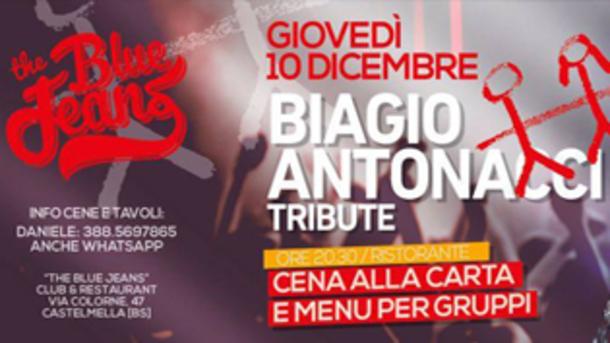 Biagio Antonacci Tribute @ The Blue Jeans